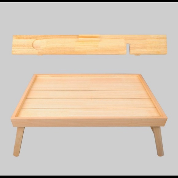 Bed and BATH TRAY set OF 2